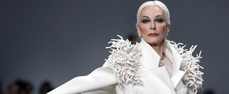 The 82-Year-Old Model Who Still Gets Nervous on the Runway