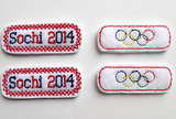 Olympic Barrettes