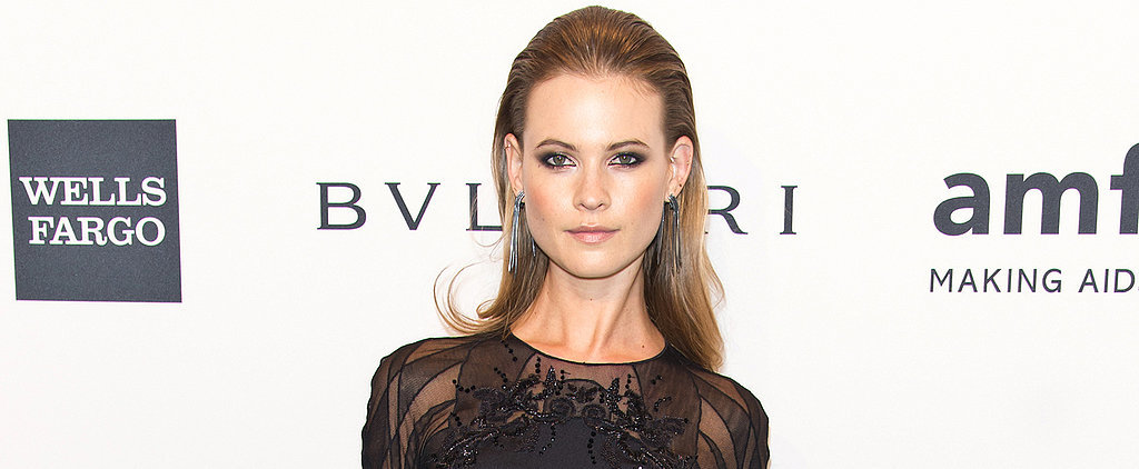 Behati Prinsloo Makes a Scintillating Dress Choice