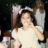 Kim was either 4 or 5 years old in this shot . . . she wasn't sure which. Source: Instagram user kimkardashian