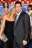 Jen shared a sweet moment with Adam Sandler at the NYC premiere of Just Go With It in February 2011.
