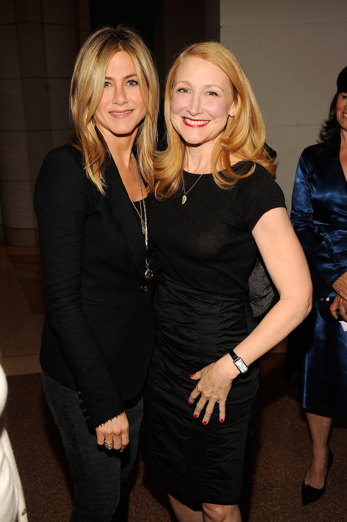 Jen posed with Patricia Clarkson while hosting the Washington DC screening of her Lifetime film Five in October 2011.