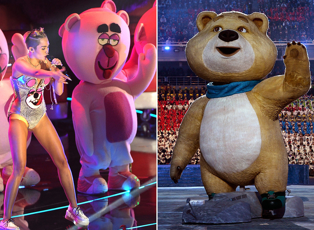 We Think We've Seen the Sochi Bear Before