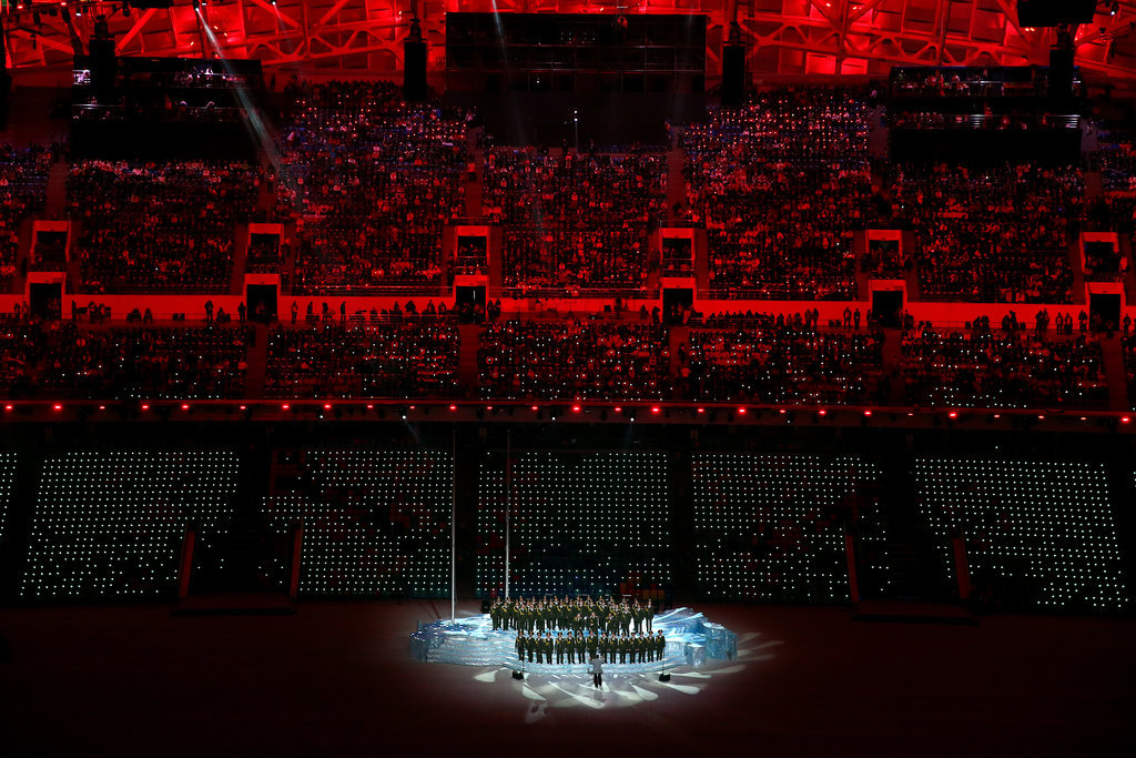 Performers took center stage during the opening ceremony.