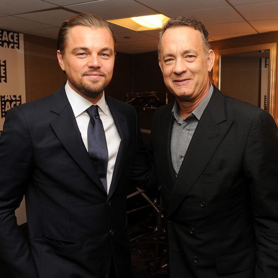 Leonardo DiCaprio and Tom Hanks at 2014 ACE Eddie Awards