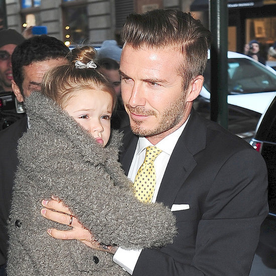 Victoria, David Beckham With Kids at New York Fashion Week