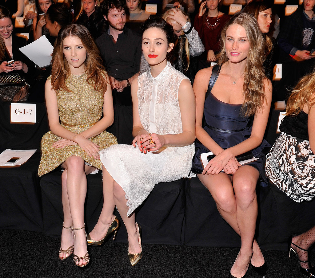 Anna Kendrick, Emmy Rossum, and Julie Henderson