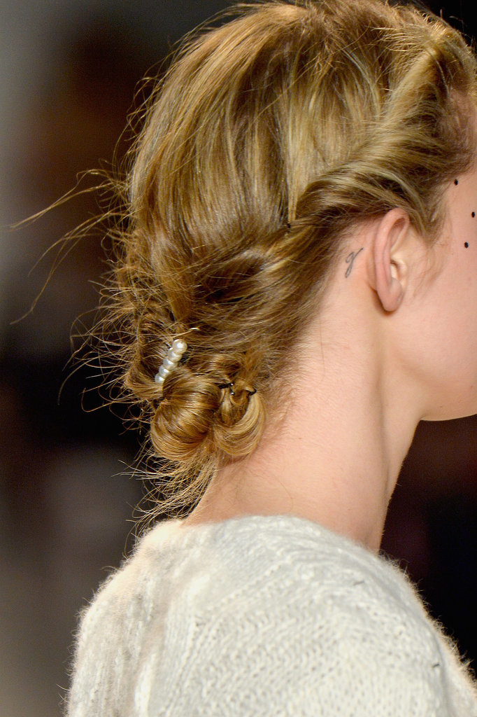 Brides Will Flip For the Updo at Lela Rose