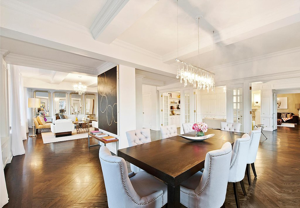 The formal dining space has an open layout, making it ideal for entertaining. Source: Douglas Elliman Real Estate