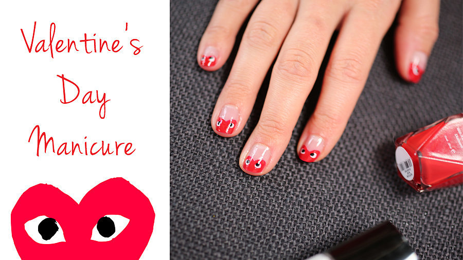 Wear Your Heart on Your Manicure!