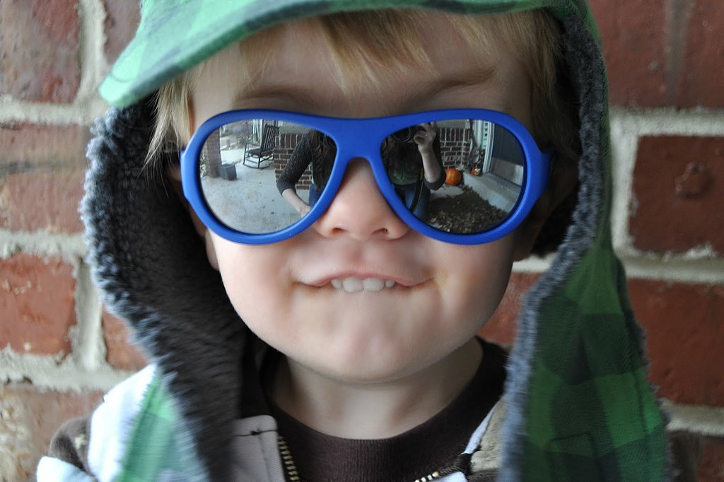 A Pair of Kid-Proof Shades