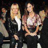 New York Fashion Week Lara Bingle and Nicole Trunfio