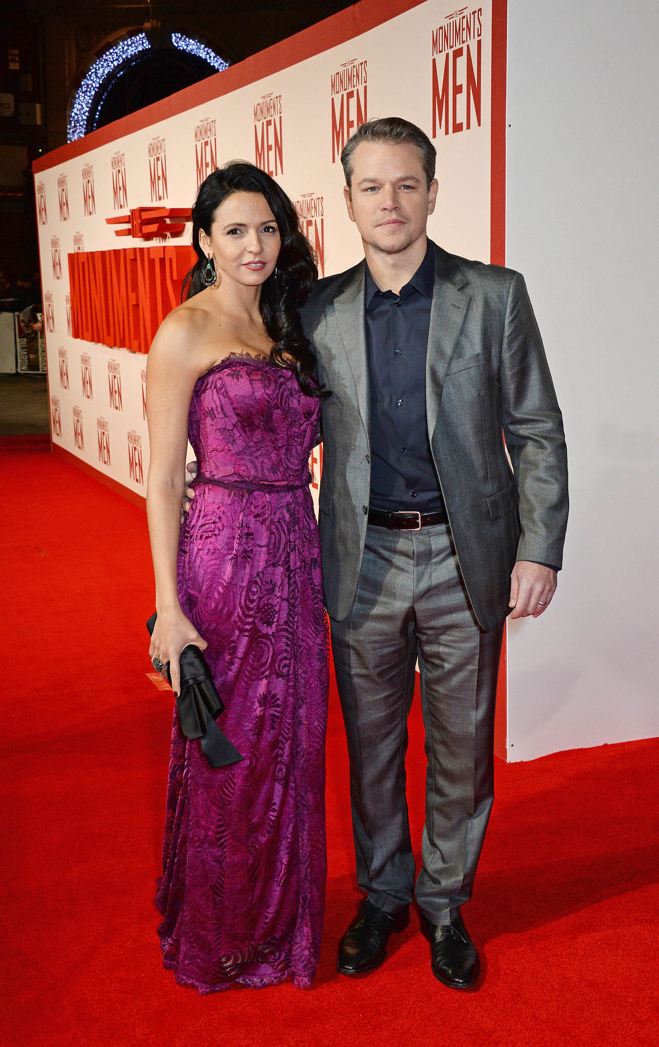 Matt Damon couple