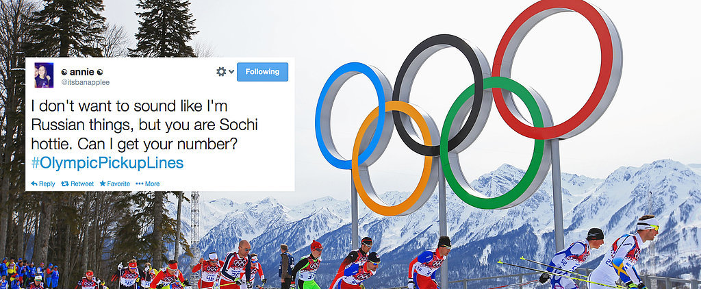 Break the Ice With These #OlympicPickupLines