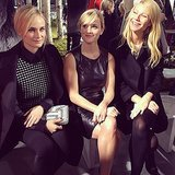 Diane Kruger, Reese Witherspoon, and Gwyneth Paltrow sat front row together for the Hugo Boss runway show at NYFW. Source: Instagram user bagsnob