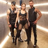 Jennifer Lopez and Ricky Martin looked as hot as ever while filming a new music video together. Source: Instagram user ricky_martin