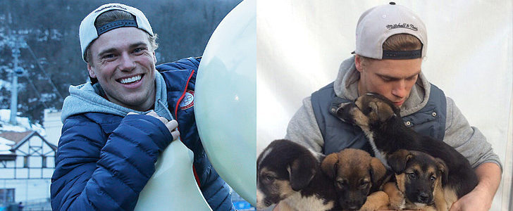 Swoon Over the Adorable Olympic Skier Who's Saving Stray Dogs