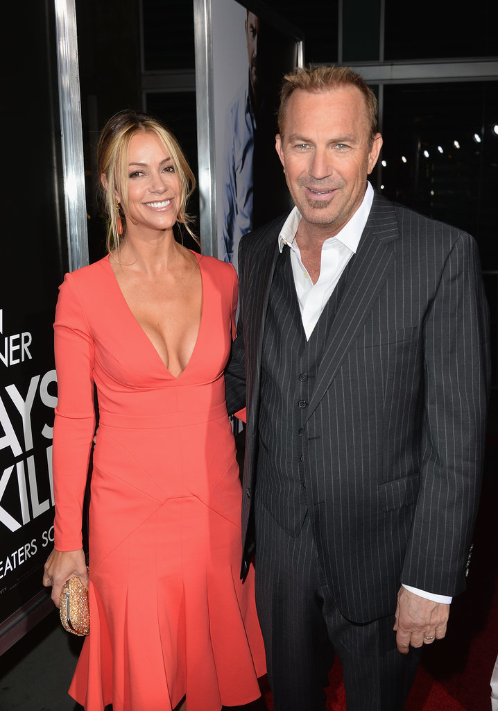 Kevin Costner and his wife, Christine Baumgartner, also turned the event into a date night.
