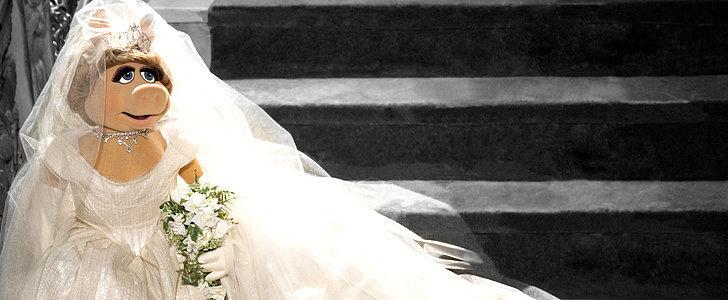 Guess Who Designed Miss Piggy's Wedding Dress?