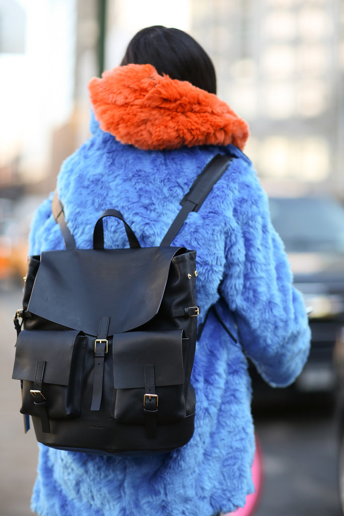 The backpack is as much about function as it is about fashion.