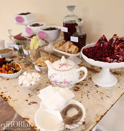 A DIY Tea Bar