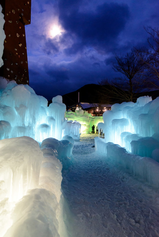 Take a Frozen-Inspired Vacation at Ice Castles