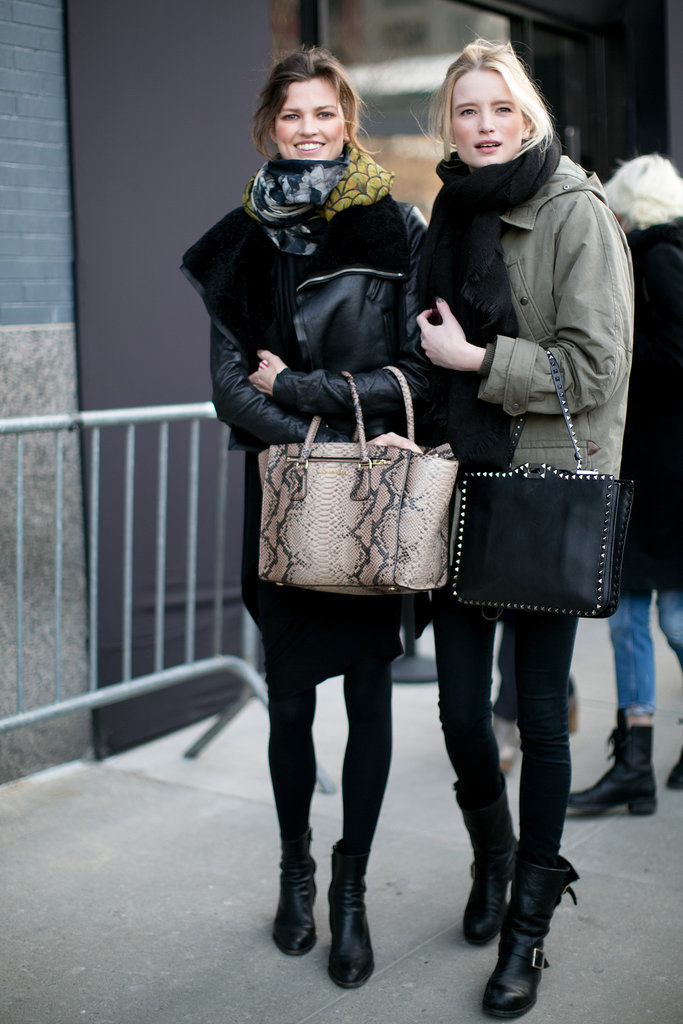 Doubled up on great bags and awesome outerwear.