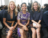 Blake Lively, Freida Pinto, and Rose Byrne