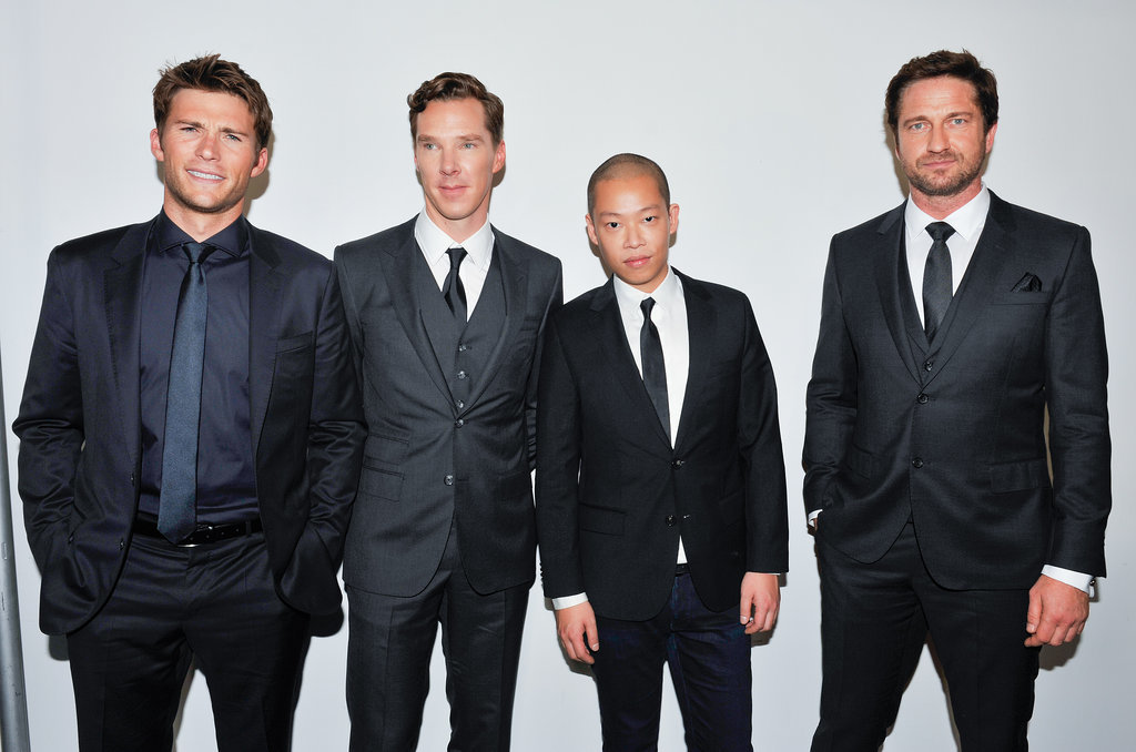 Scott Eastwood, Benedict Cumberbatch, Jason Wu, and Gerard Butler