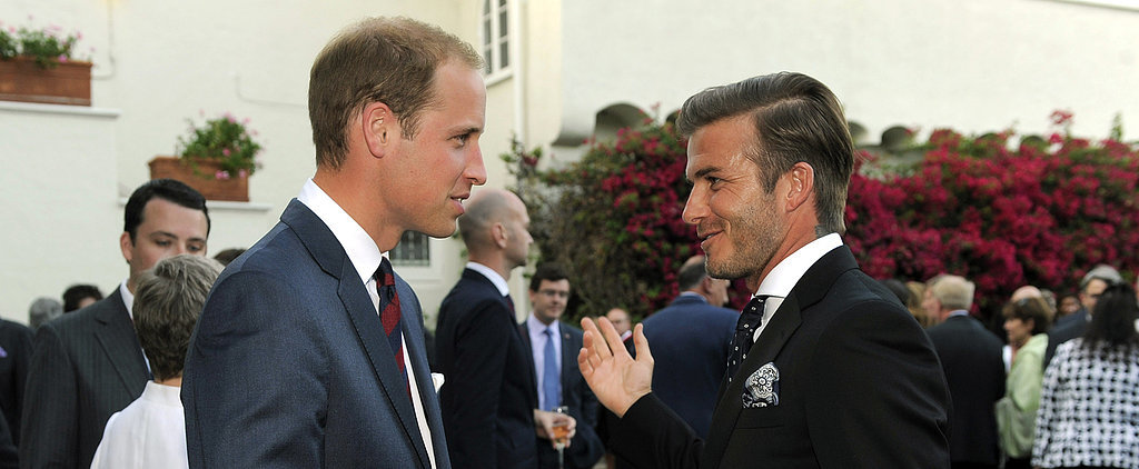Why David Beckham Is Teaming Up With Prince William
