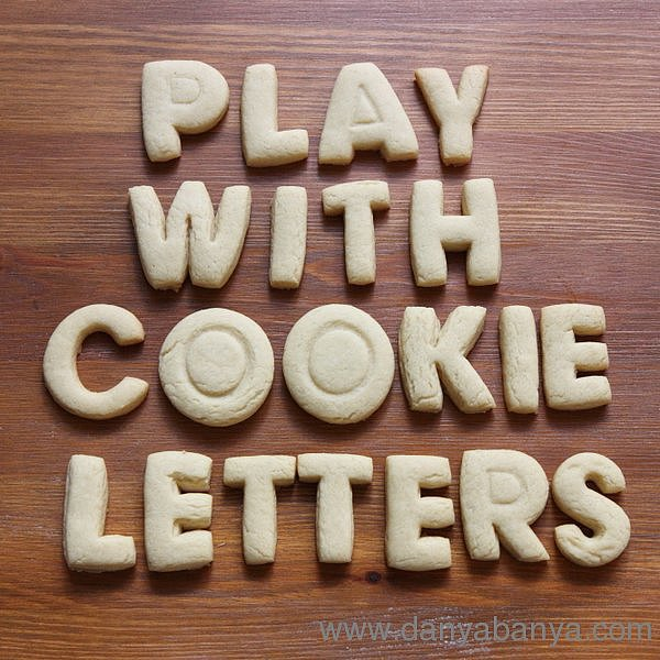 Play With Cookie Letters