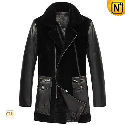 Mens Leather Sheepskin Coats CW877025