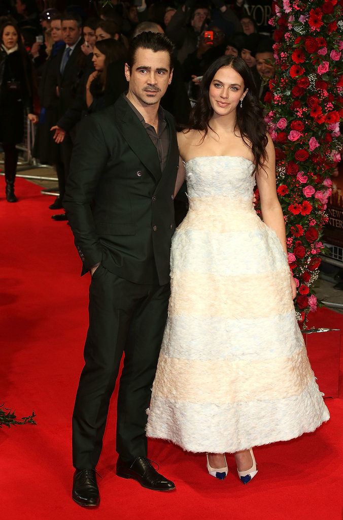 Colin Farrrell and Jessica Brown Findlay