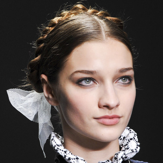 Backstage Beauty at Bora Aksu Autumn/Winter 2014