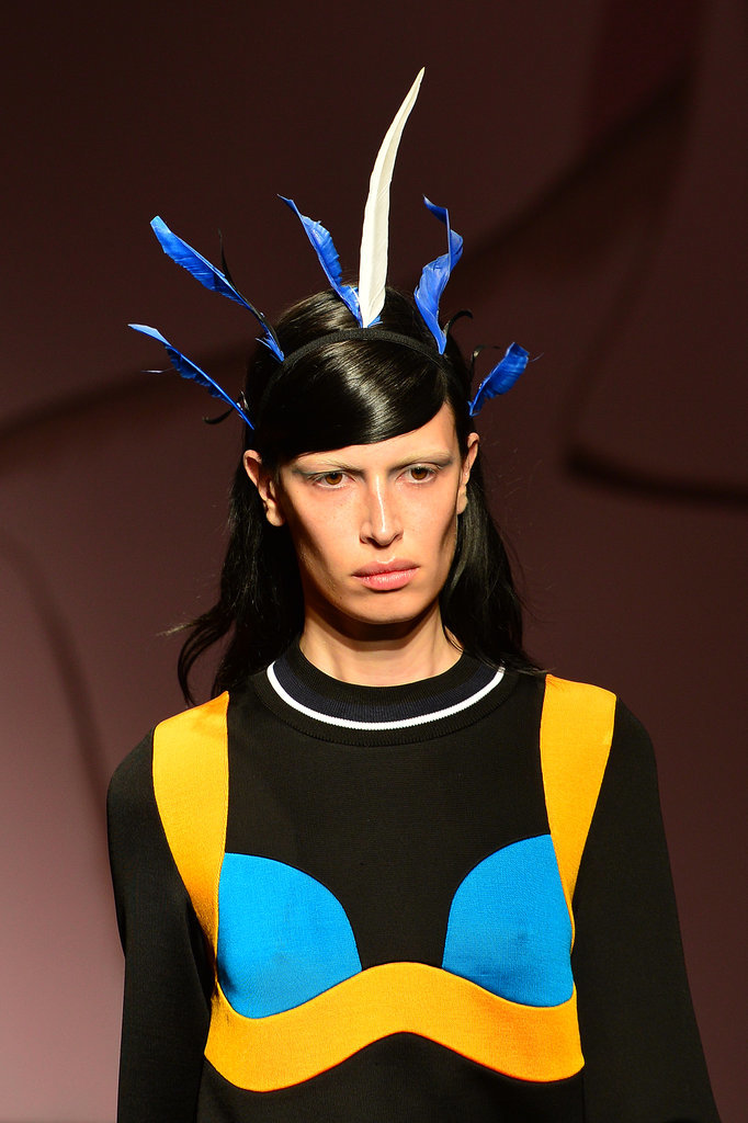 Look Back: Outstanding Beauty Looks From the Prada Runway