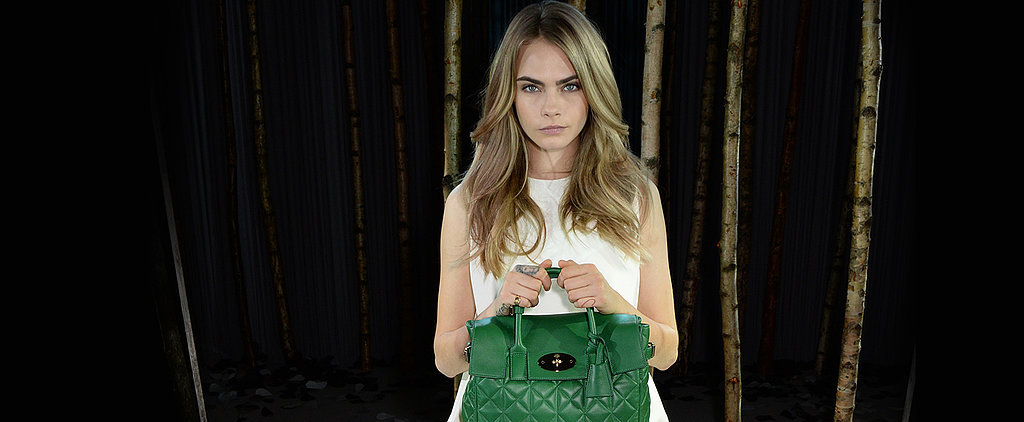 Cara Delevingne Is Officially a (Mulberry) Bag Lady