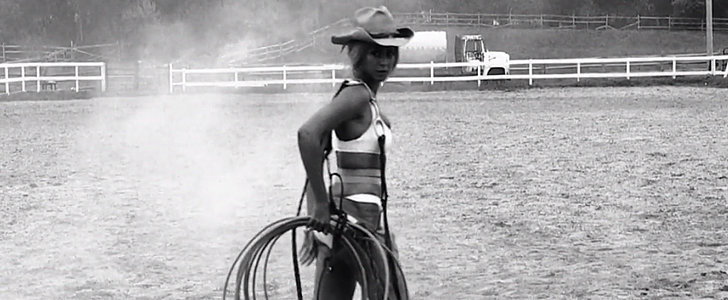 Beyoncé Heads to the Wild West For Kanye's Remix