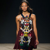 Mary Katrantzou's Vibrant Prints Go 3D For Autumn/Winter 2014