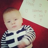 Baby's First Valentine's Day