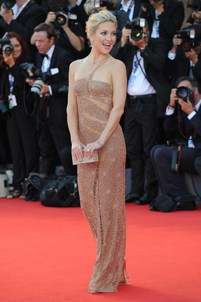 Kate Hudson in Versace at the Venice Film Festival