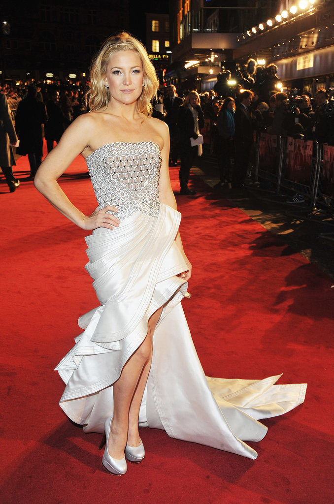 Kate Hudson in Versace at the Nine Premiere