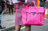 It doesn't get brighter than this bubblegum-pink Pashli. Source: Gorunway