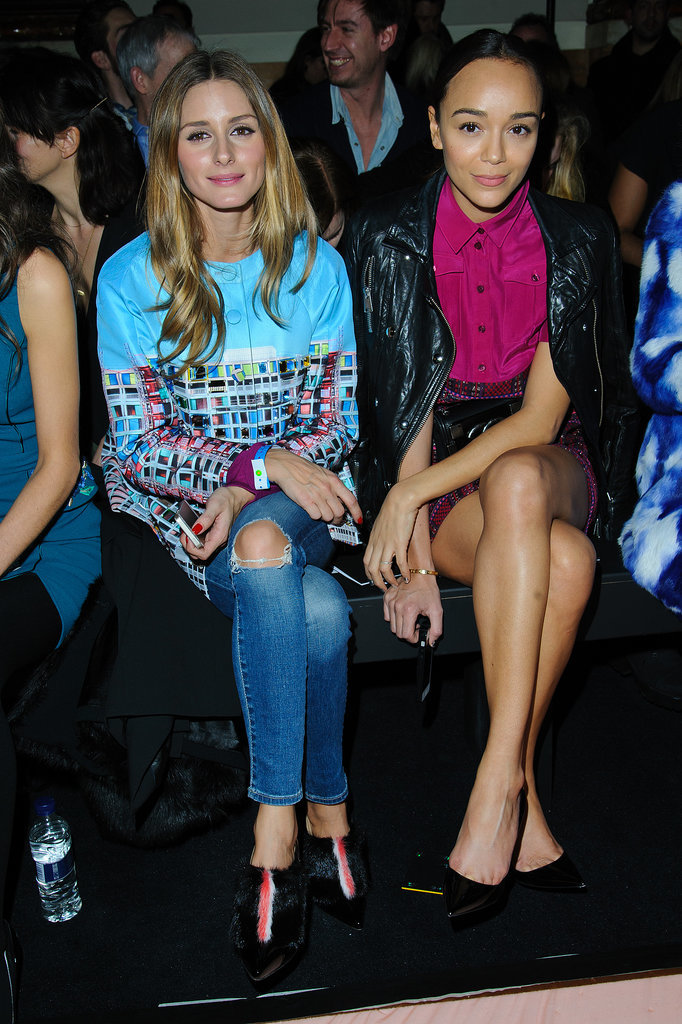 Olivia Palermo and Ashley Madekwe