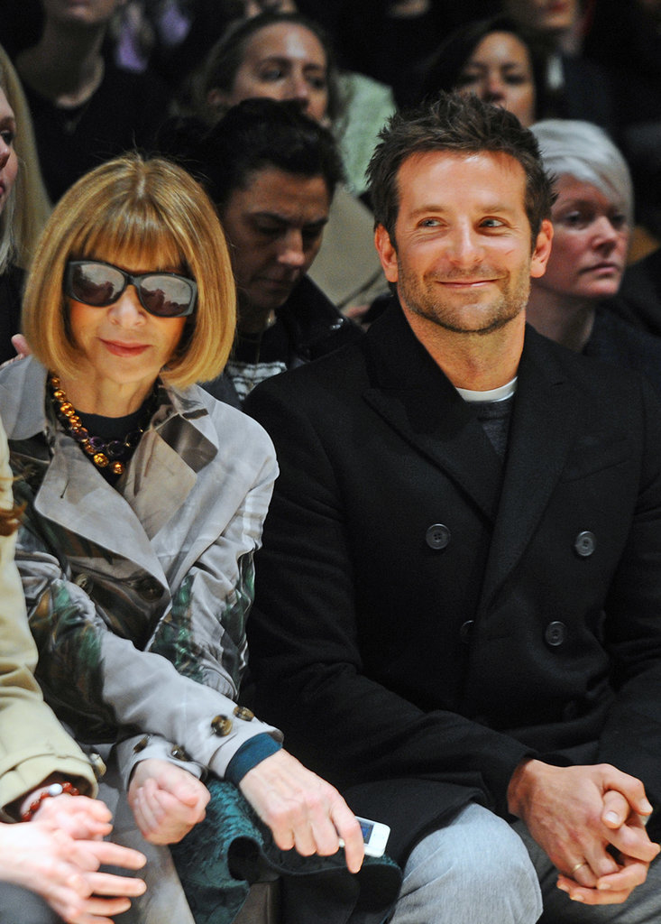 Anna Wintour and Bradley Cooper
