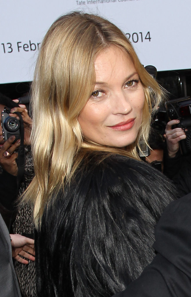 Kate Moss at Topshop Unique