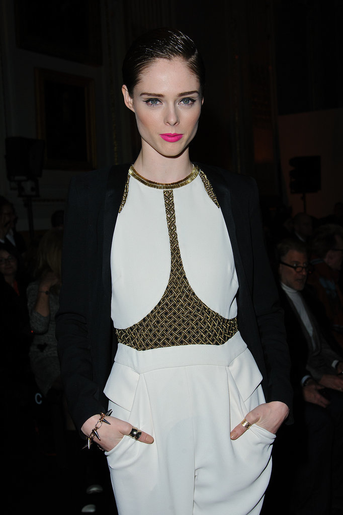 Coco Rocha at Matthew Williamson