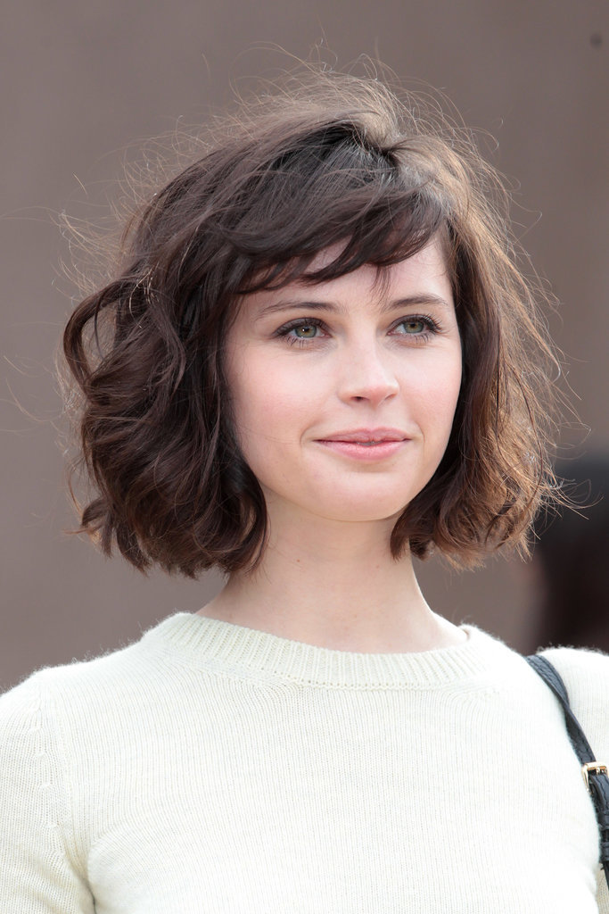Felicity Jones at Burberry Prorsum