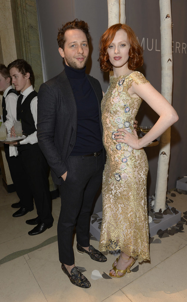 Derek Blasberg and Karen Elson