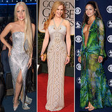 Celebrities Wearing Versace Pictures