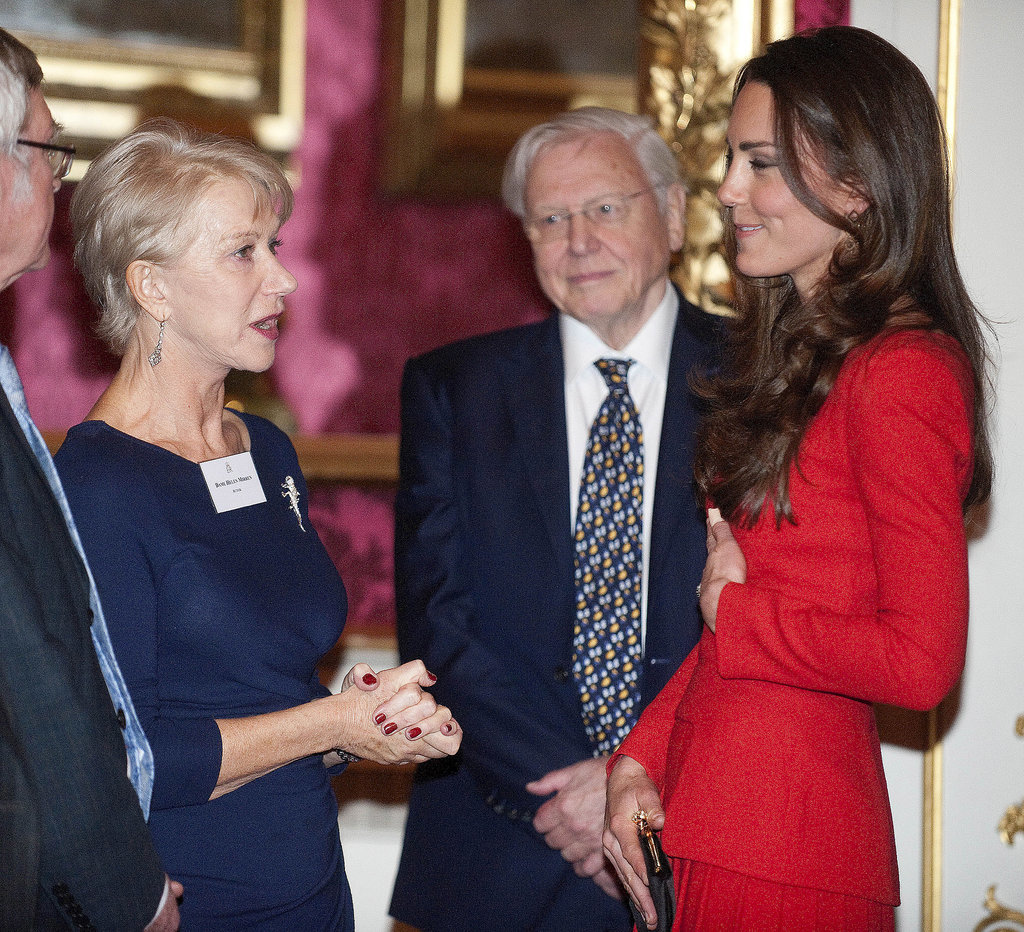 Kate caught up with Helen Mirren.